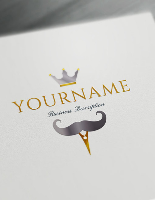Create Cool Barber Logo Design