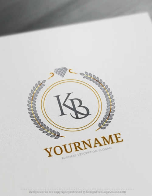 Jewelry logo maker Wedding Logos