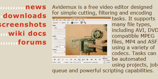 Avidemux Video Editor
