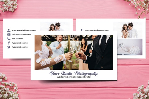Bridal Photography Business Card