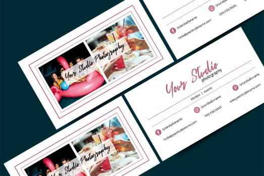 Business Card for Lifestyle Photographer