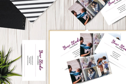Free Business Card for Family Photographer