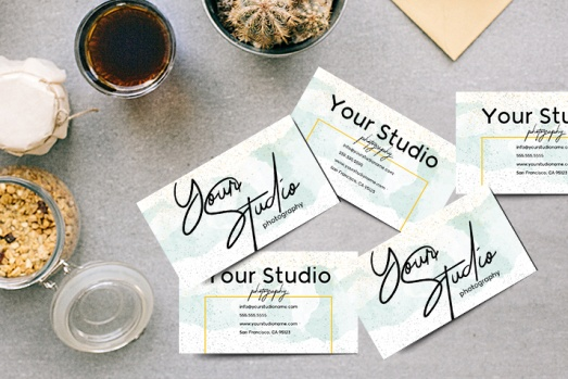 Modern Business Card's Design for Pro Photographers