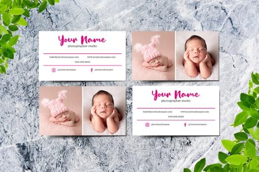 Newborn Photography Business Card