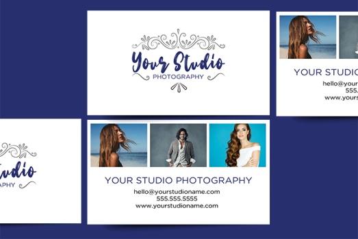 Portrait Photography Business Card