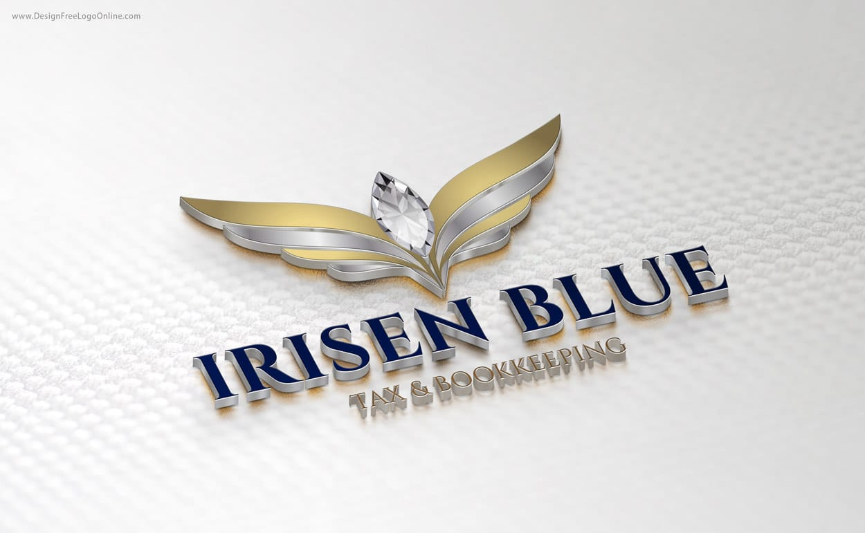 Custom Logo Design wings
