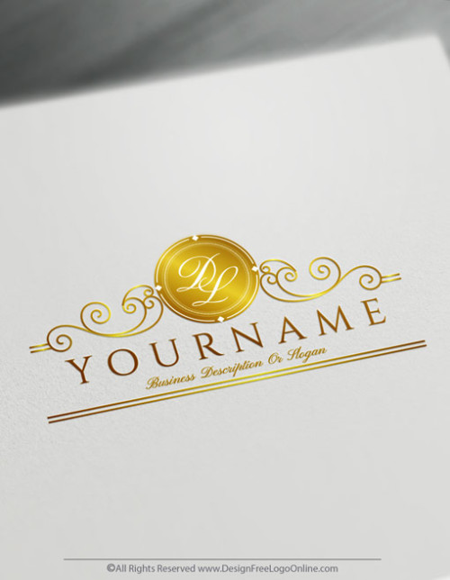Create Ornamental Letter Logo Design with the best Monogram Maker