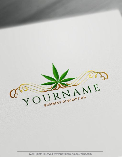 Create medical Cannabis Logos online
