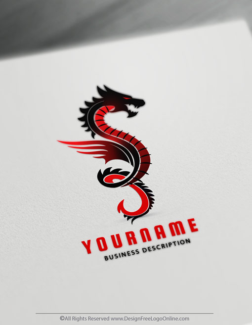 Create a Dragon Tattoo with the best Dragon Logo Creator