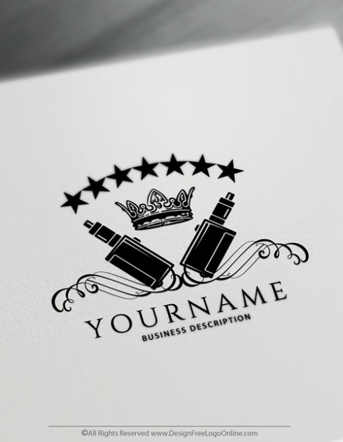 Design Vintage Vaping Logos with the Vape Logo Maker