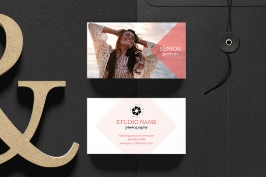 universal Portrait Photography Business Card