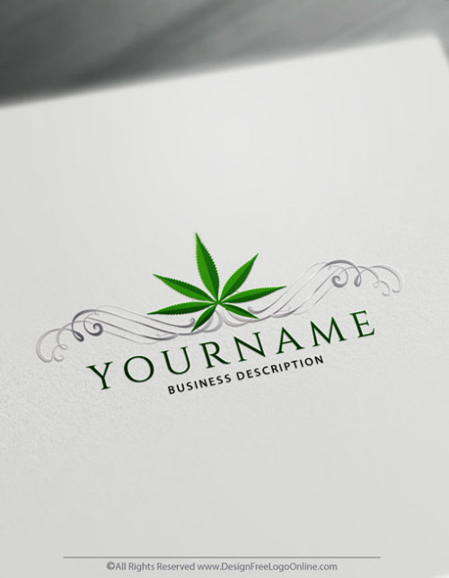 Create your medical Weed Logo with the Cannabis logo maker.