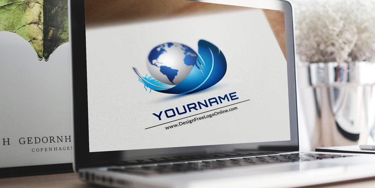 Online 3D Globe Logo Maker