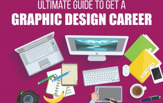 How graphic designers can hone their career - infographics