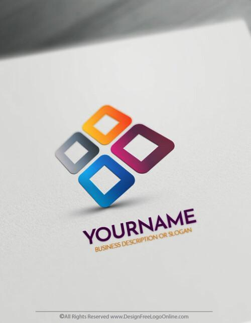 modern 3d company logo maker