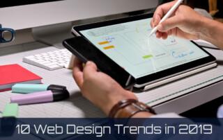 10 Web Design Trends in 2019