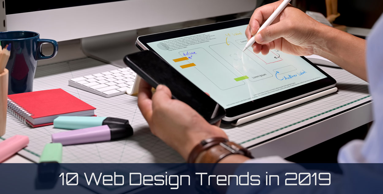 10 Web Design Trends in 2019