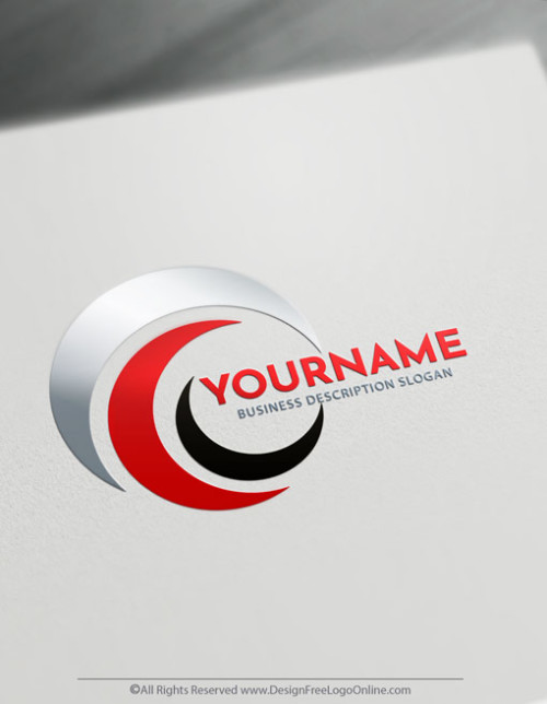 design your own Abstract red Lines logo online