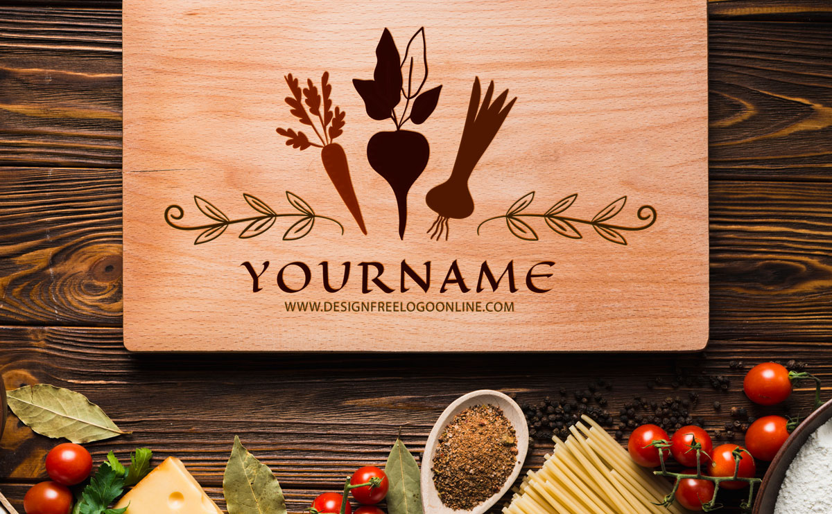 food logo maker