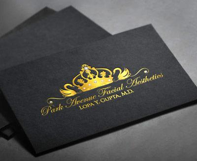 gold swans logo design