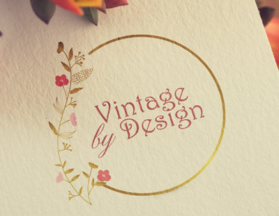 vintage logo custom design