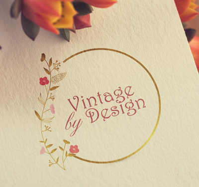 vintage logo custom design