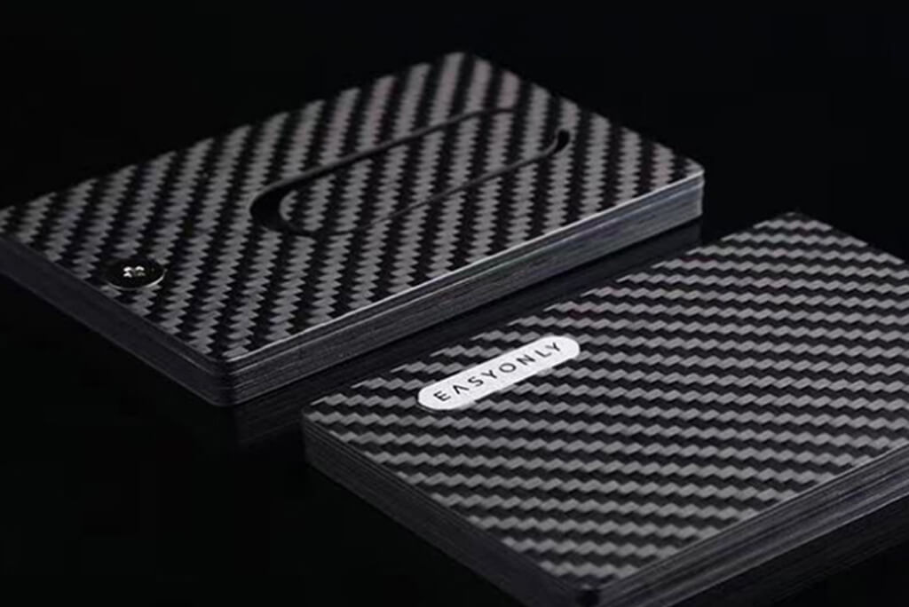 Carbon Fiber Business Cards
