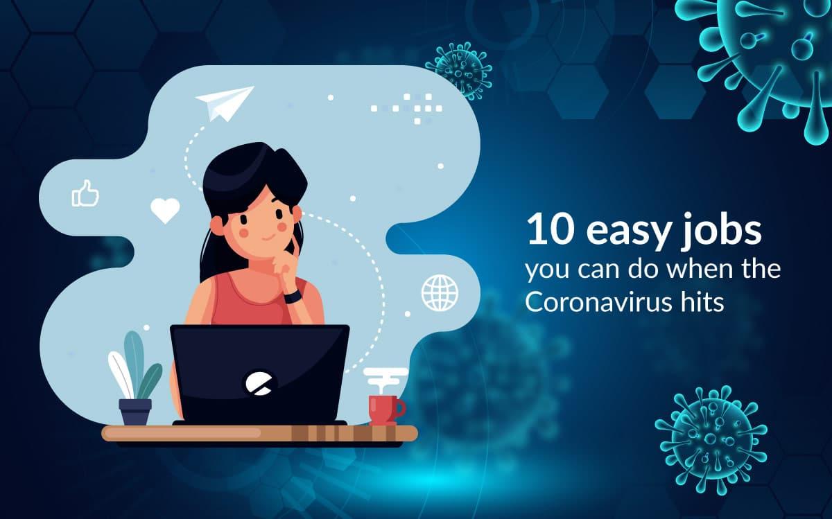10 easy jobs you can do when the coronavirus hits