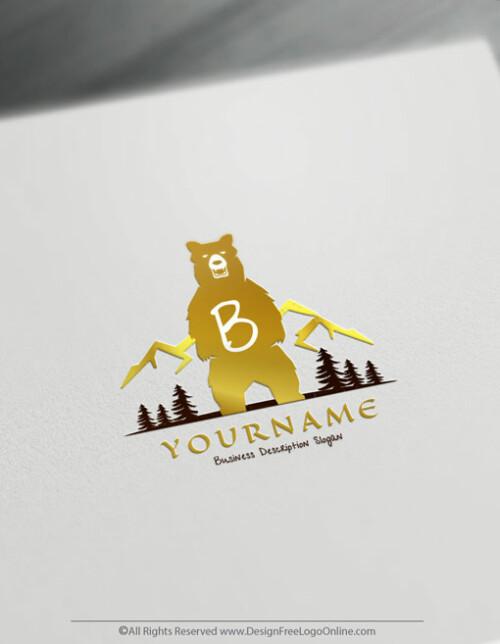 branding image of a bear
