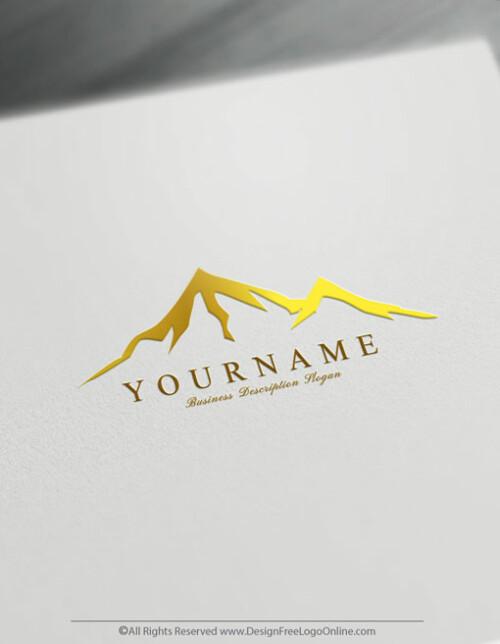 golden Mountains image design