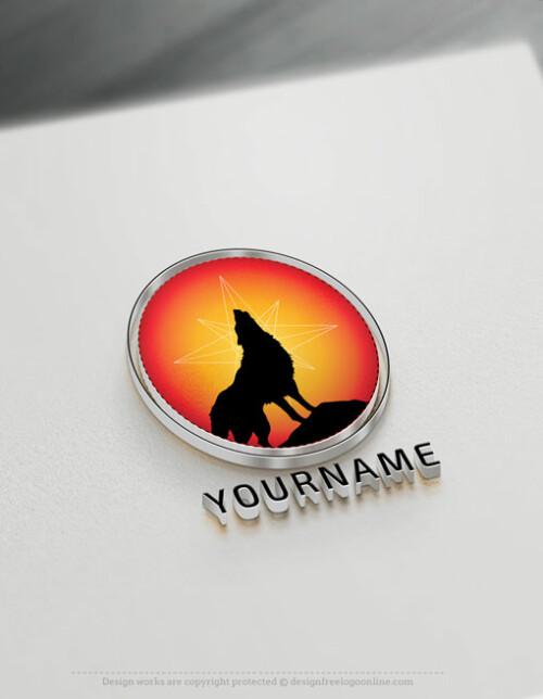 Best wolf logo maker