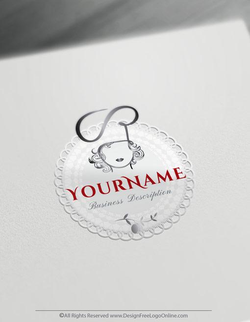 Woman Restaurant Logo Maker Online Free