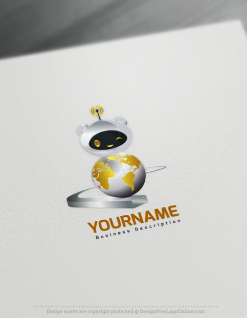 Build A Brand With The golden Robot image icon