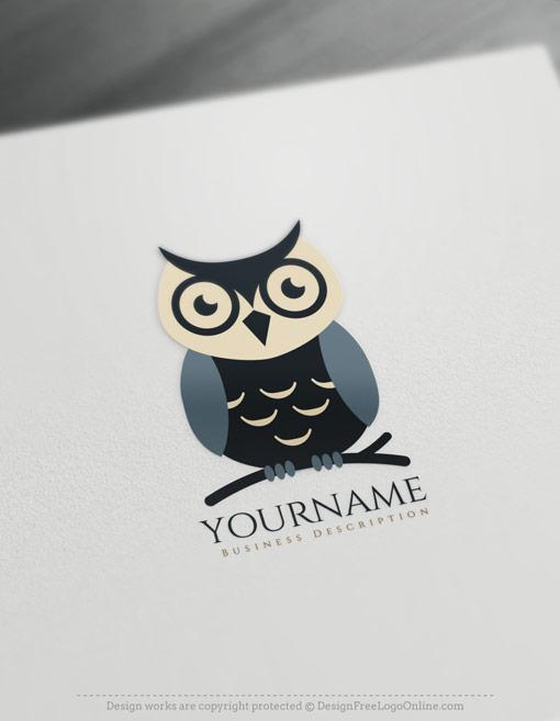 free owl symbol maker
