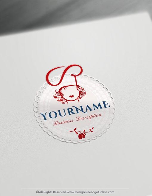 catering Female logo branding