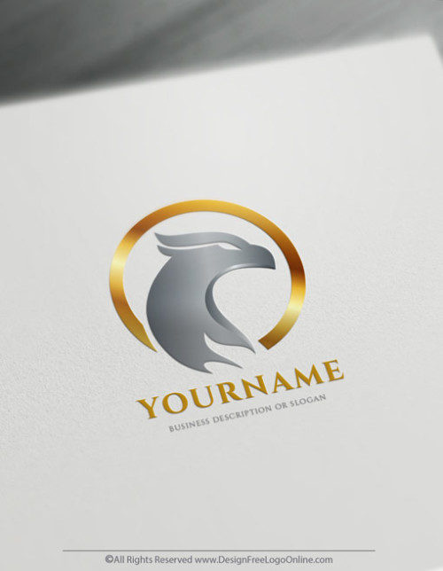 Design A Logo Of Eagle Head With Free Logo Maker