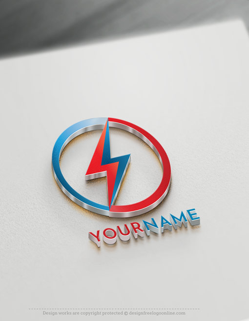 Build a brand like a pro with our online logo maker! Instantly customize your new electrical logo branding with original free logo design templates