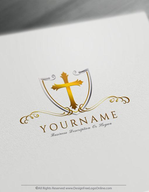 customize your new golden church logo