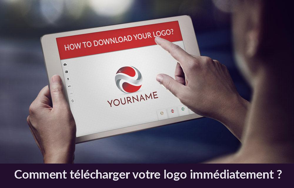 Comment télécharger votre logo immédiatement ?