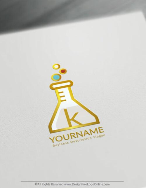 golden testing tube logos