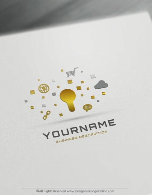 Cyber Security Logo maker