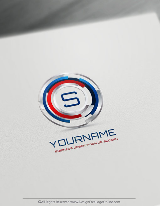 Digital Focus Logo Template