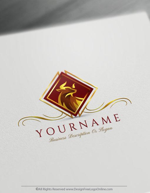 red bull logo design maker