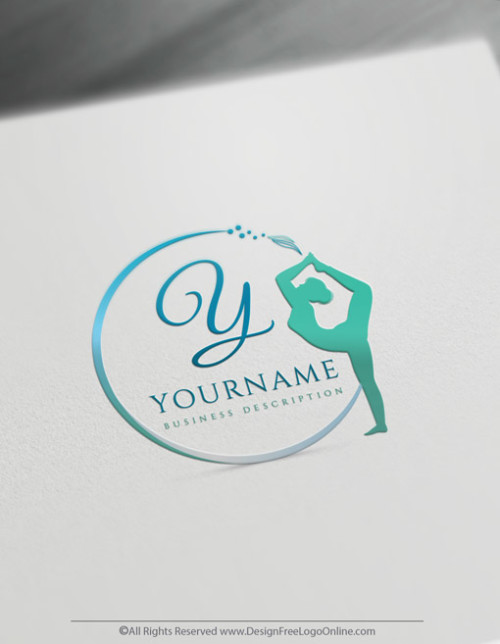 Build A Brand Online With Our Logo For Yoga Studio