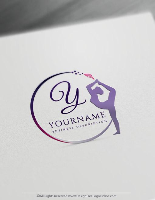 Design a woman yoga meditation brand