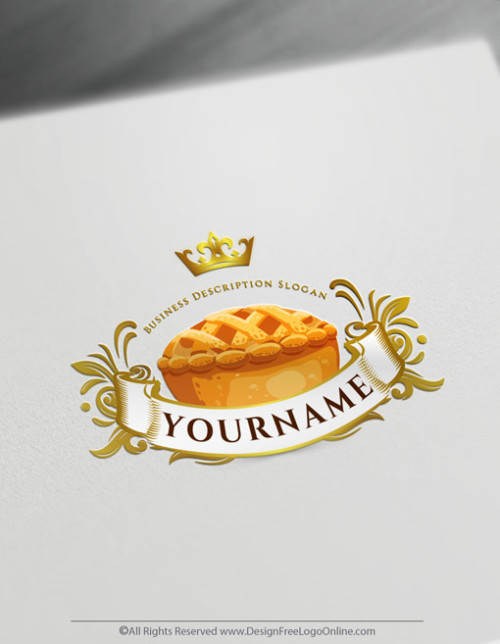 download your Home Bakery pie logo without registration
