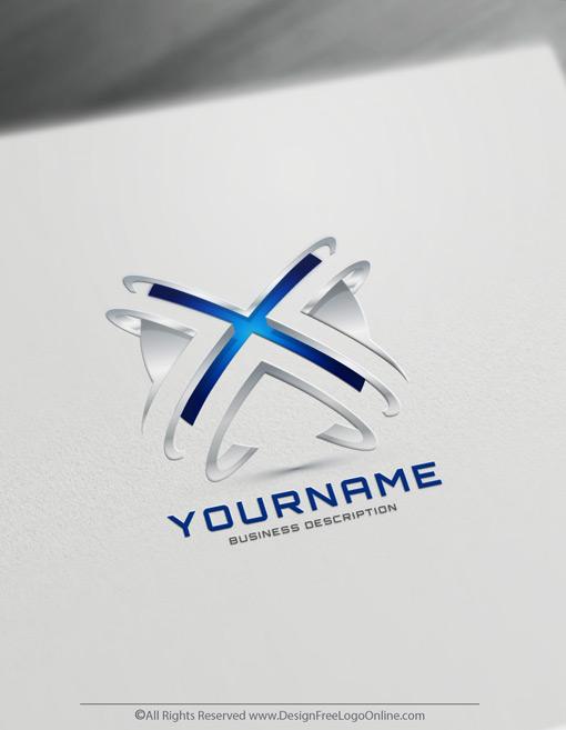 X-letter logotype