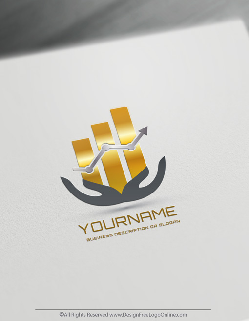 Instantly Download Your Customized Financial Logo Design