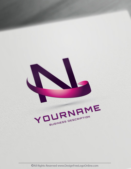 Build A Brand Online With Our Wave 3D Letter Logo Maker