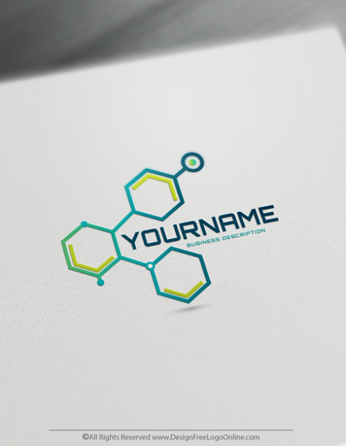Build A Technology Brand With Our Digital Network Wire Logo Maker